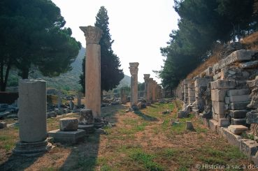 Ephèse, vestiges d'une cité antique flamboyante