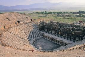 Théâtre antique de Hierapolis : les travaux de restauration s'achèvent