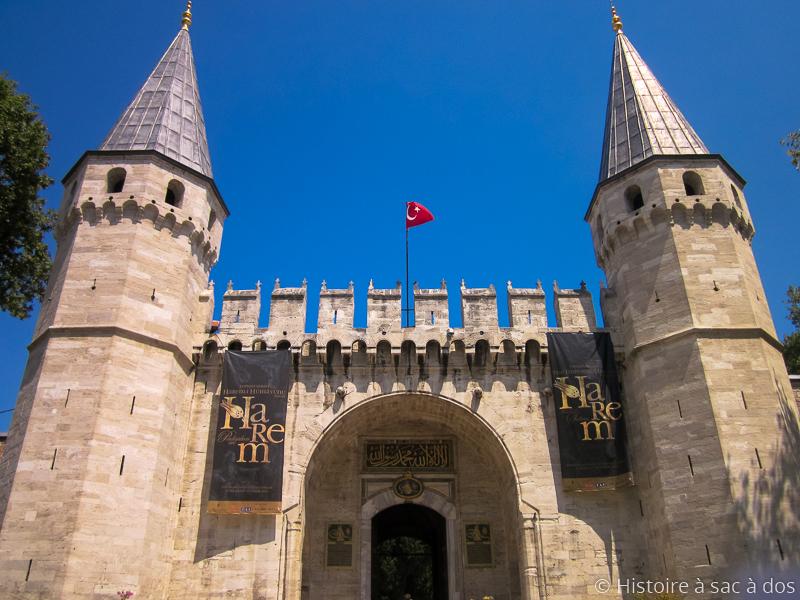 Entrée du palais de Topkapi