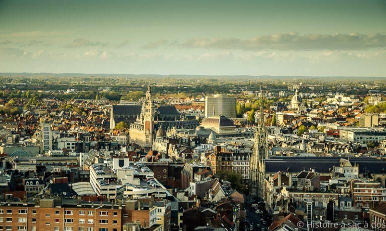 Histoire de Lille du Moyen Âge à Louis XIV