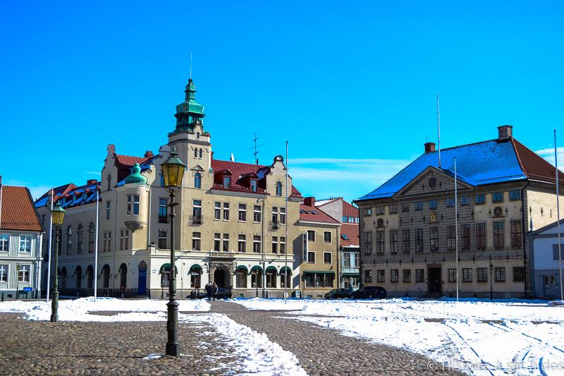 Place de l'hôtel de ville de Kalmar