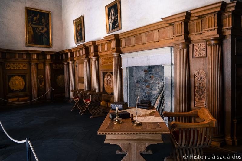 Hall du château de Kalmar
