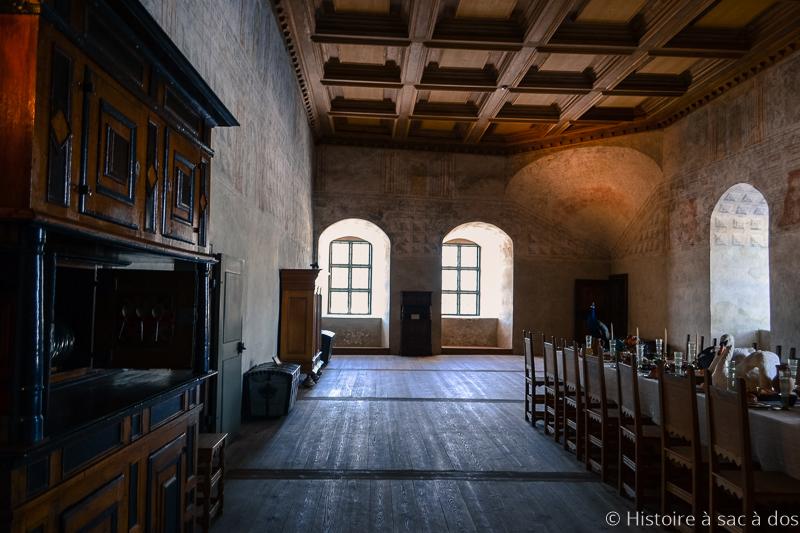 Grand Hall du château de Kalmar
