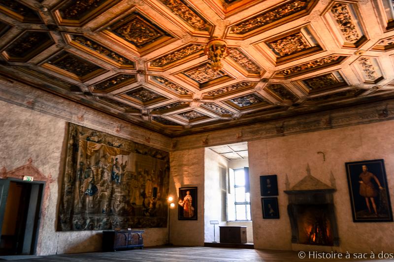 Hall doré du château de Kalmar
