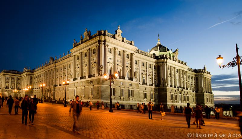 """Palais royal de Madrid, """"El Palacio Real"""""""
