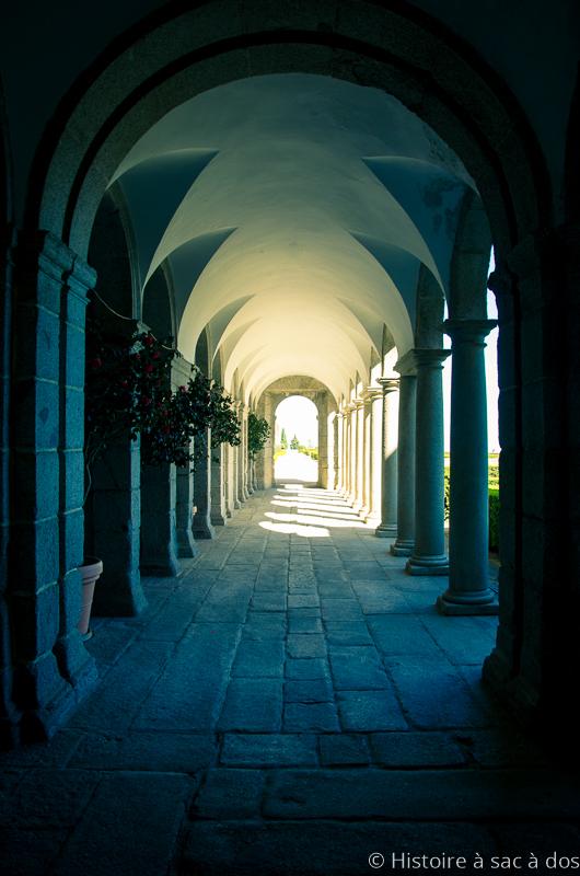 Couloir du monastère del Escorial