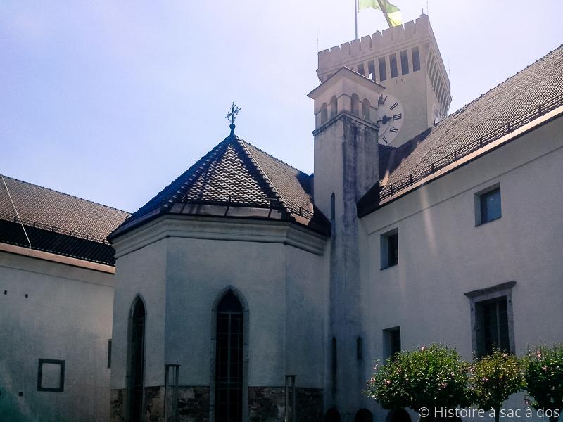 Chapelle du château de Ljubljana
