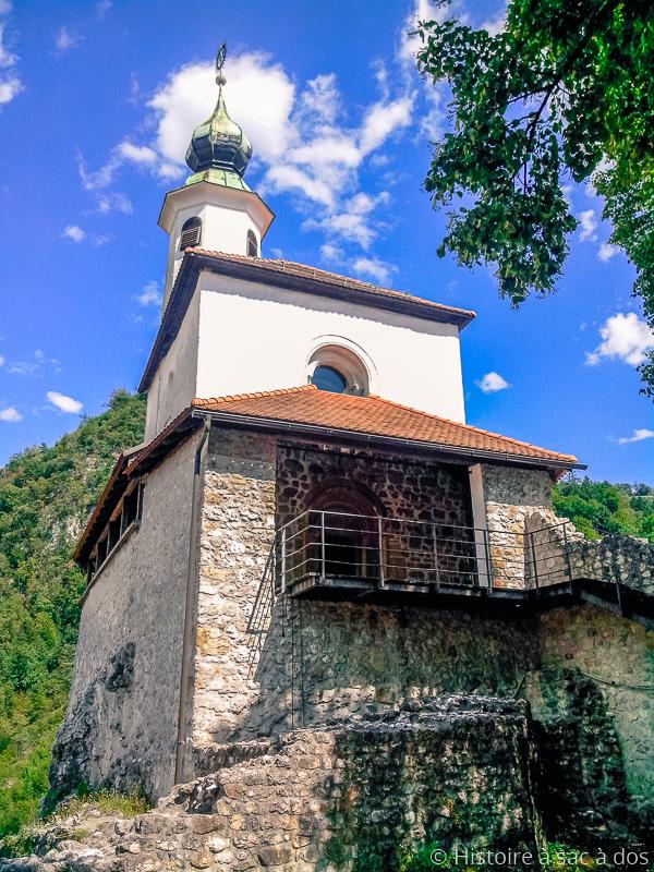 Chapelle de Saint-Eligius à Kamnik en Slovénie