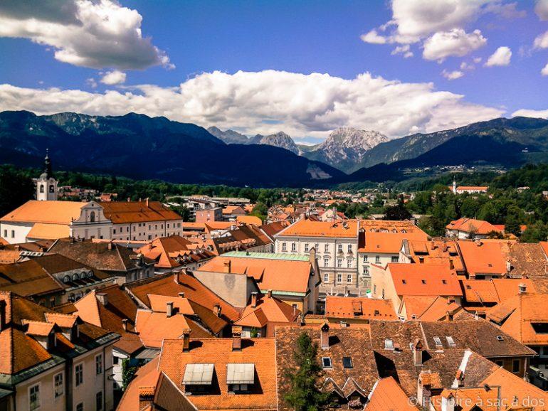 Kamnik, petite ville médiévale de Slovénie
