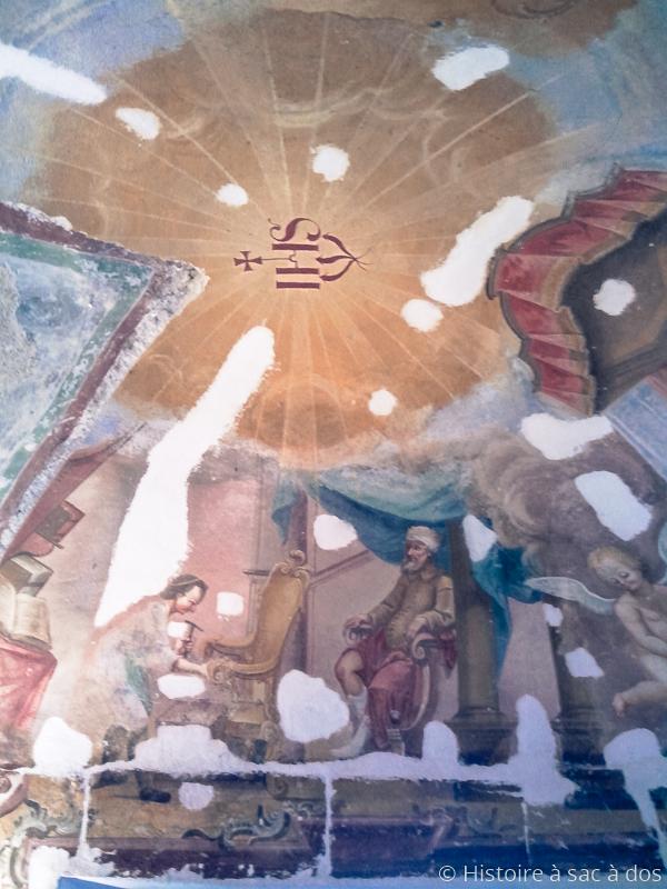 Plafond de la chapelle de Saint-Eligius à Kamnik