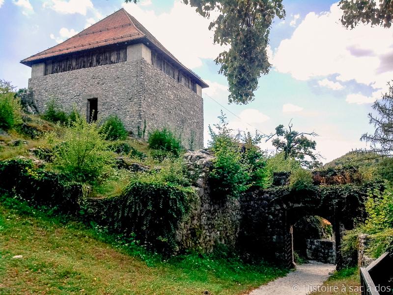 """""""Petit Château"""" de Kamnik en Slovénie"""
