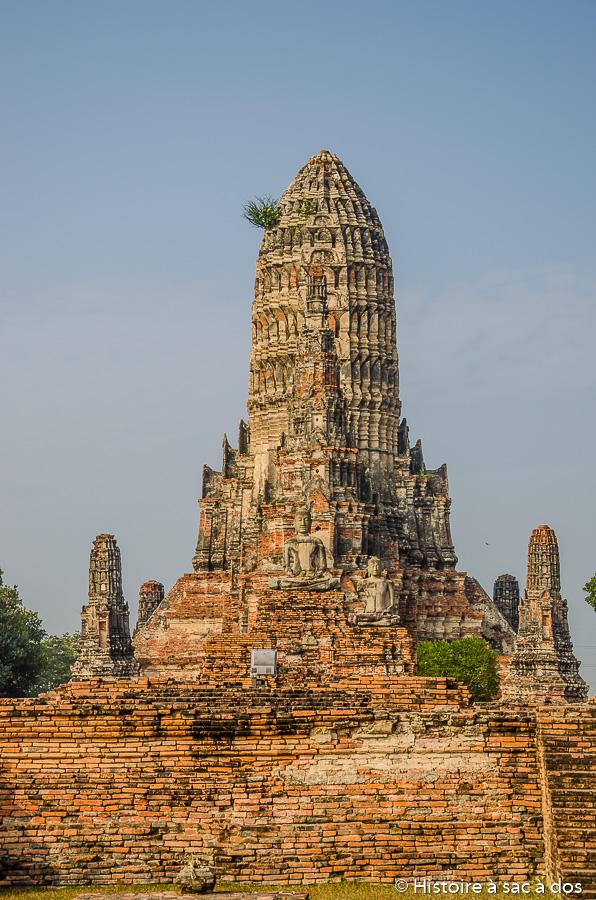 Prang du Wat Chaiwatthanaram
