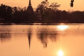 Visite du magnifique site historique de Sukhothai