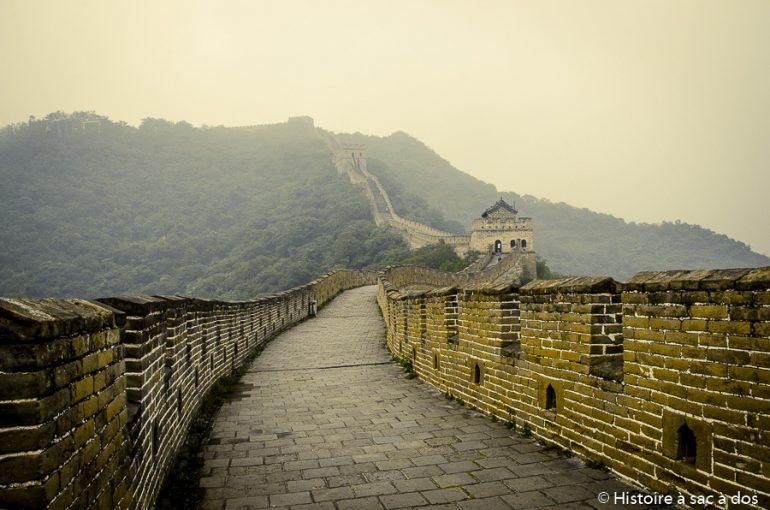 Chine : vestiges de la Grande Muraille découverts