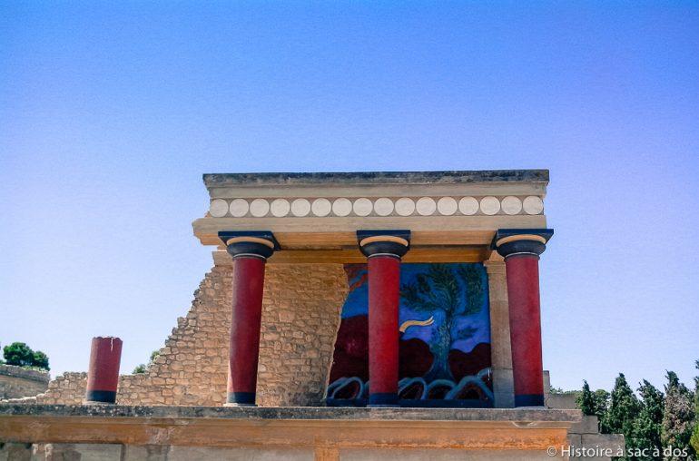 A la découverte du palais de Cnossos en Crète