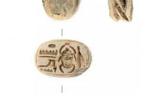 Une amulette égyptienne découverte en Jordanie