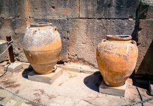 Pithoi du palais de Phaistos