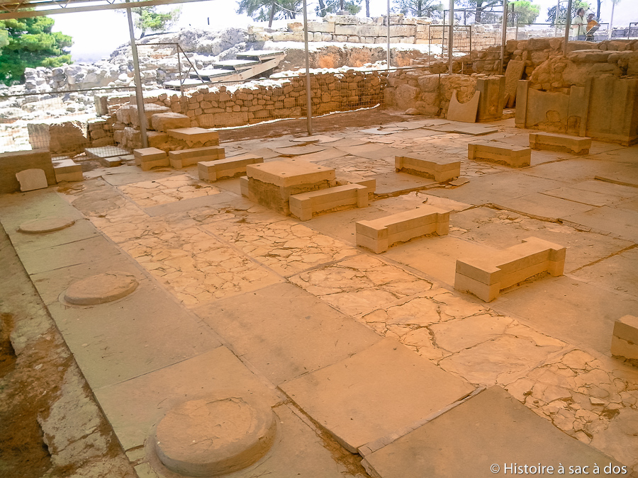 Mégaron du roi du palais de Phaistos