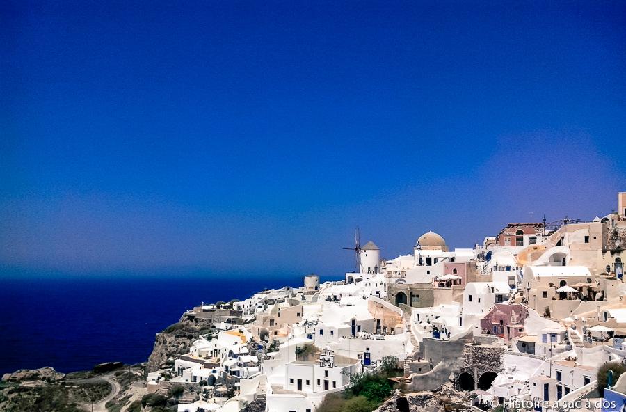 Ile de Santorin - Village Oia