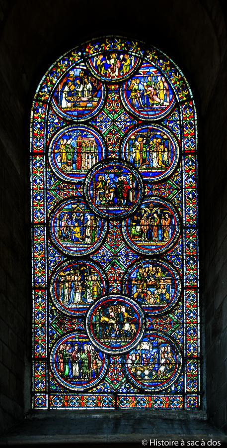 Vitrail de Thomas Becket - Cathédrale de Sens