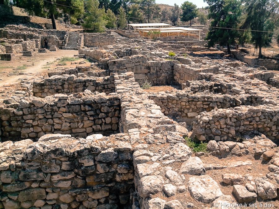 Magasins d'Hagia Triada - Crète