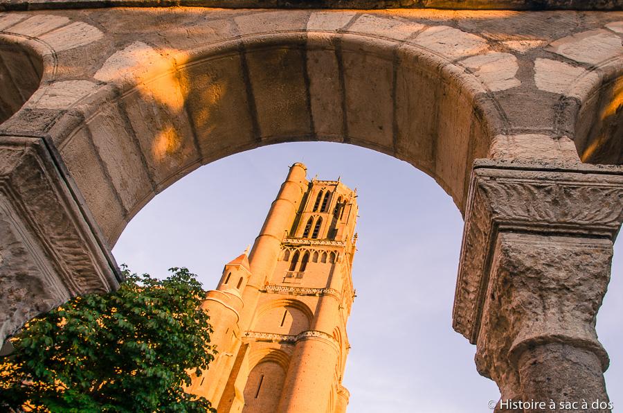 Cathédrale d'Albi construite après la croisade par l'évêque d'Albi