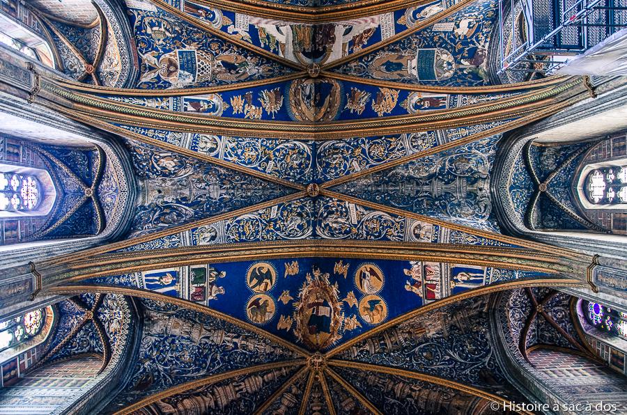 Plafond de la Cathédrale Sainte-Cécile d'Albi