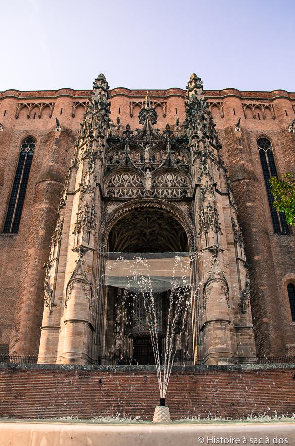 Baldaquin de la cathédrale Sainte-Cécile d'Albi