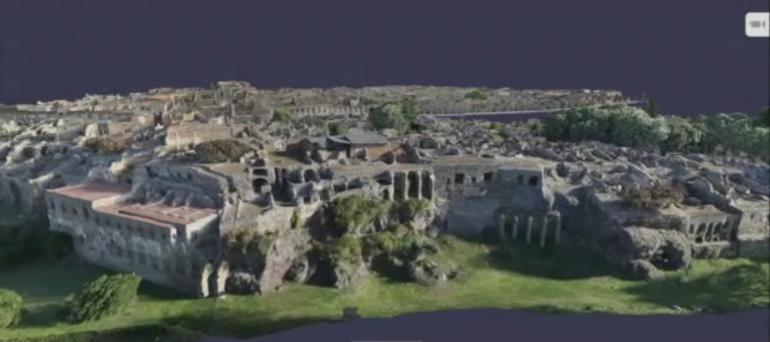 «Digital Pompéi» : une représentation 3D inédite du site archéologique