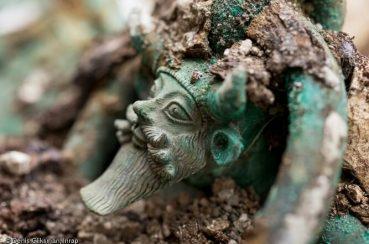 Tombe celte de Lavau, c'est un prince !