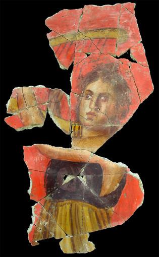 Fresque romaine découverte à Arles