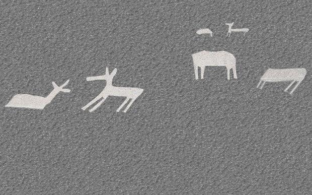 Nouveaux géoglyphes Nazca identifiés -  Photo: Yamagata University