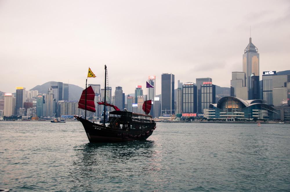 Port Victoria de Hong Kong