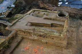 Archéologie à Lille : découverte d'un château fort