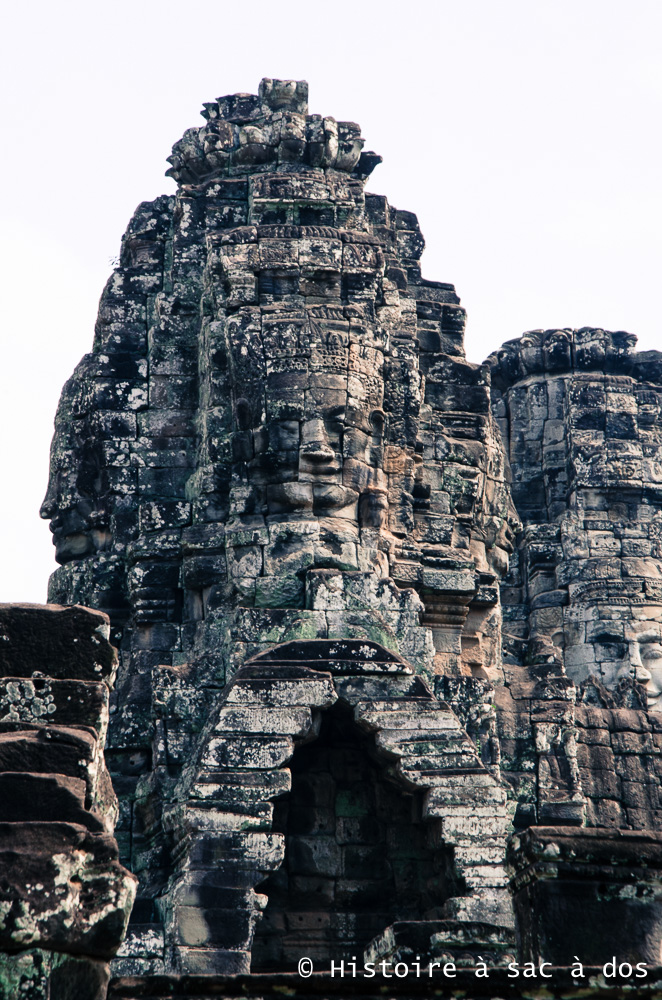 Tours à visage du Bayon - Jayavarma VII