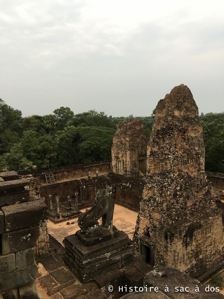 Temple Pre Rup - Deuxième moitié du Xème siècle