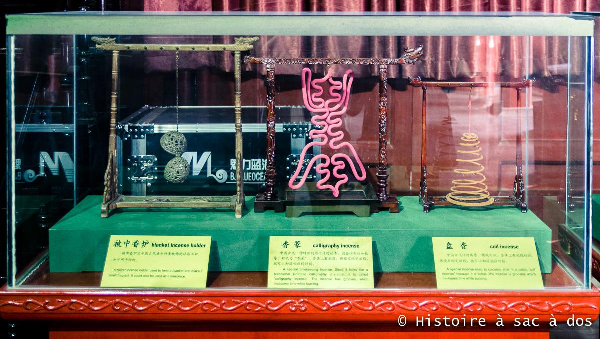 L'encens, mesure du temps en Chine ancienne