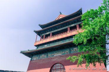 Histoire de la tour du tambour de Pékin