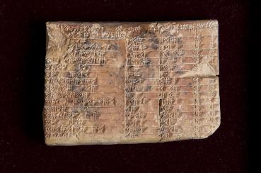 Babylone: des tables trigonométriques vielles de 3700 ans