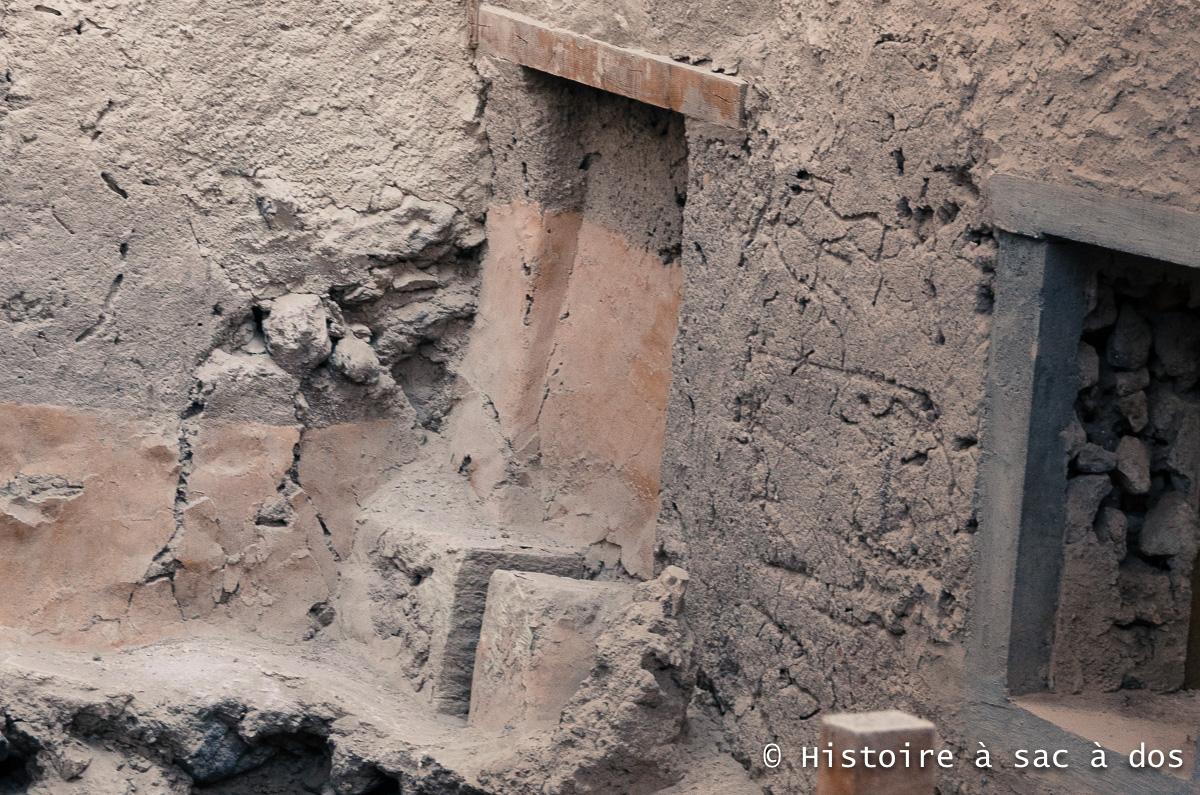 Sanitaires excavés à Akrotiri