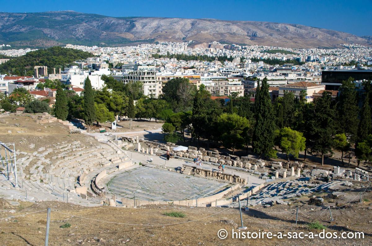 Théâtre de Dionysos - L'Acropole - Athènes