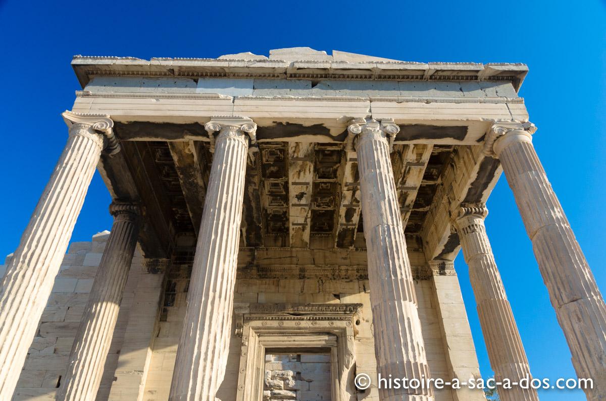 Temple de Poséidon, l'Acropole, Athènes