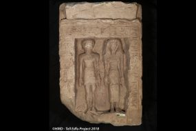 Egypte antique: les statues d'un couple volontairement vandalisées