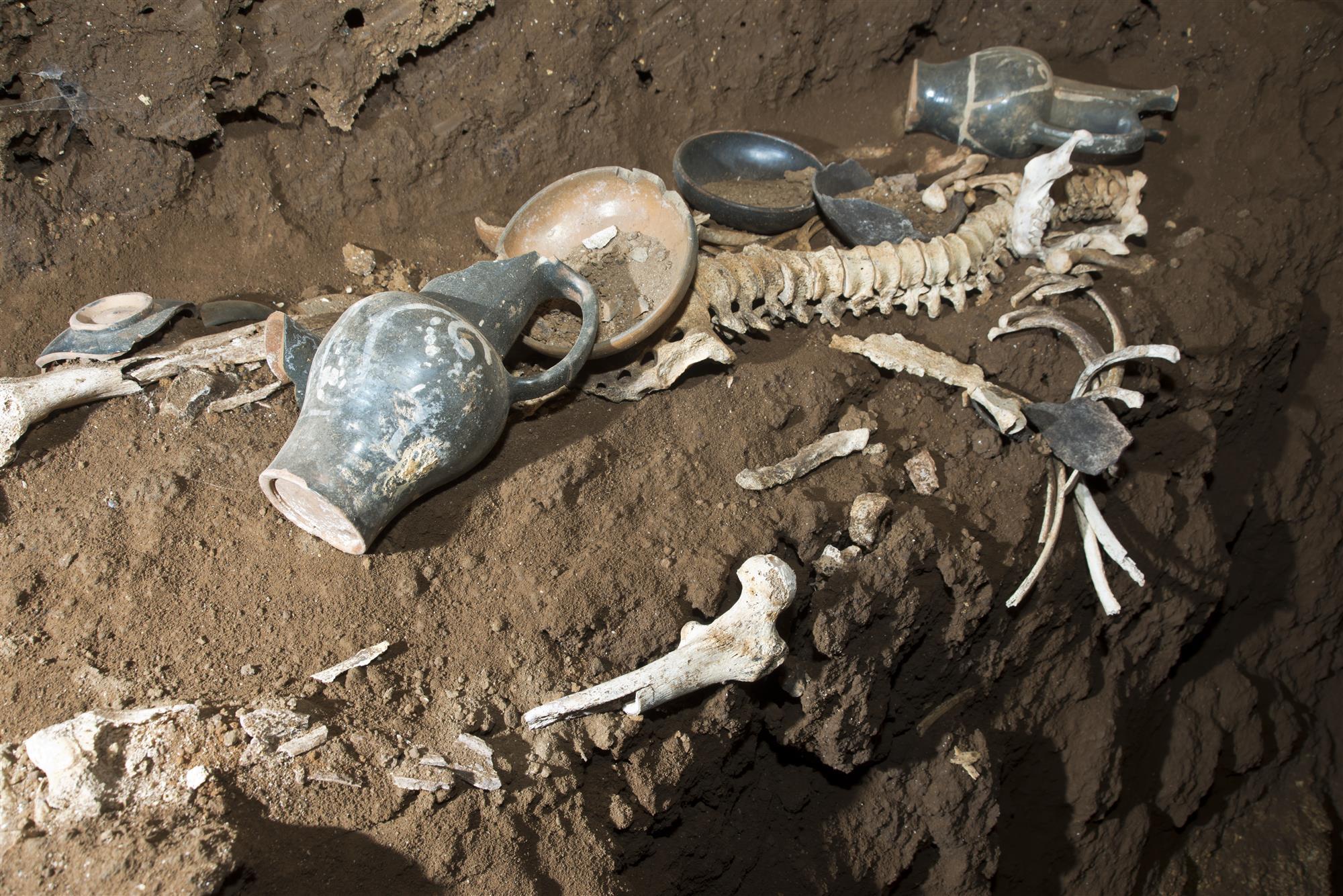 Une tombe intacte de 2300 ans découverte à Rome