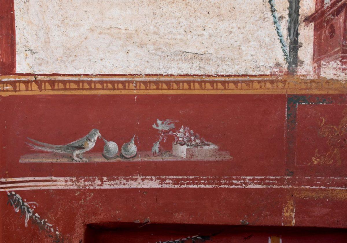 Nouvelle fresque mise au jour à Pompéi