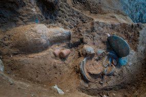Corse : découverte d'une tombe étrusque de 2400 ans
