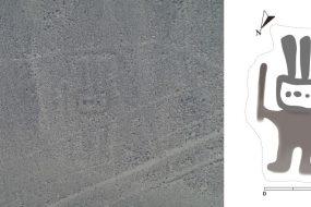 Nazca: un nouveau géoglyphe découvert grâce à l'A.I.
