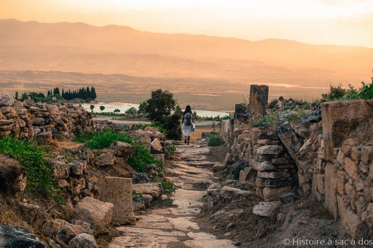 Cité antique de Hiérapolis sur la côté Egéenne