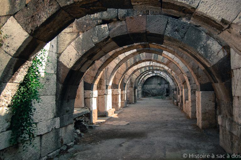 Rez-de-chassée de l'agora d'Izmir