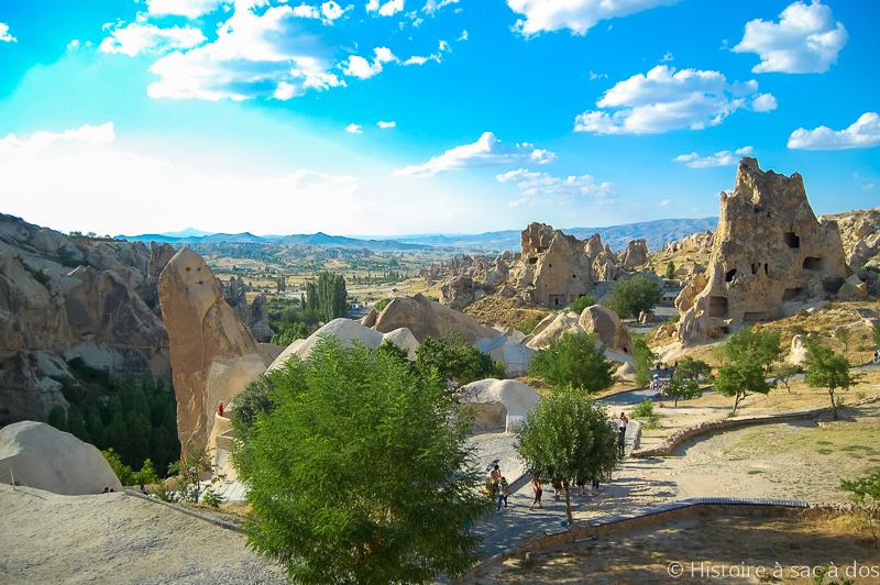 Museo al aire libre de Goreme en Capadocia, Turquía